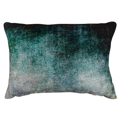 Ombre Throw Pillow - Blue & Green - Threshold™
