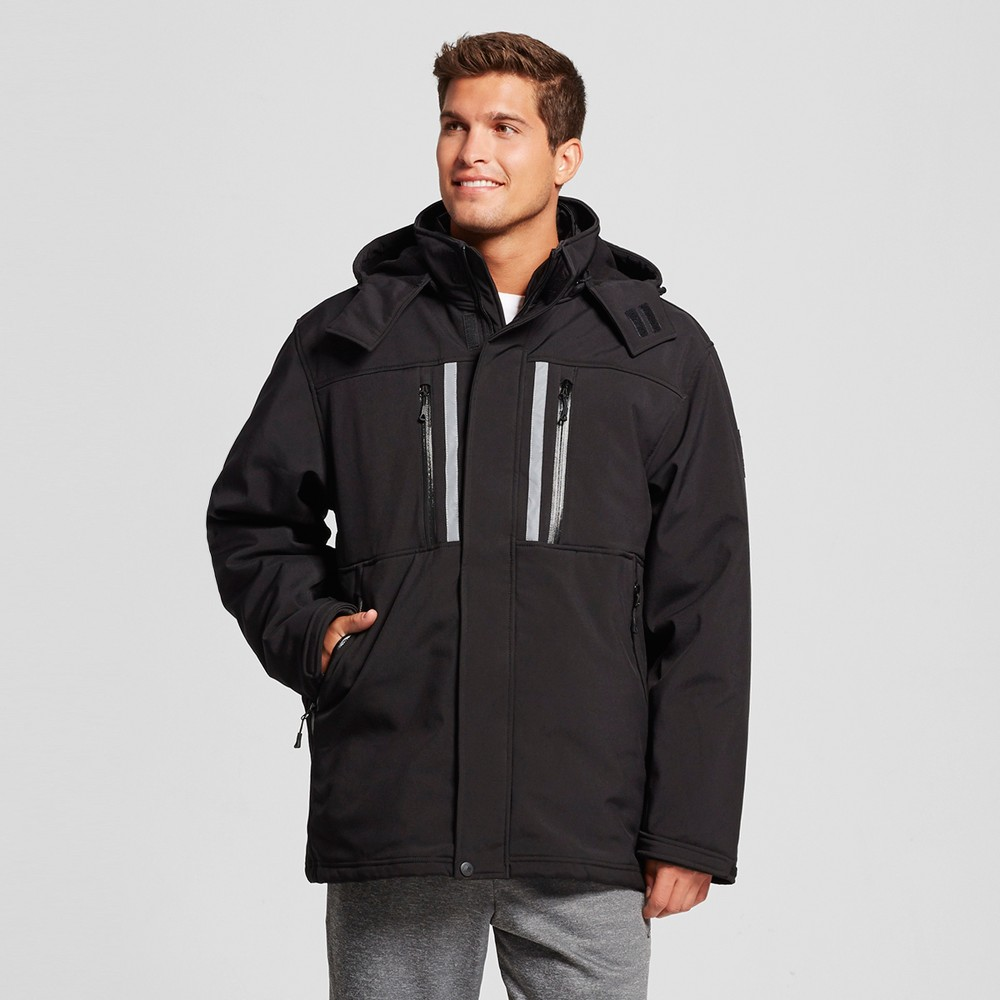 Men's Softshell Systems Jacket Black S – Rbx