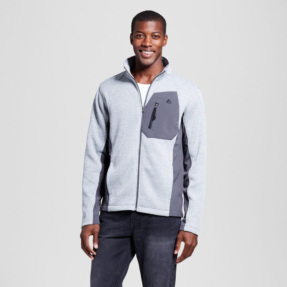 Men's Sweater Bonding Fleece Gray M – Rbx, Heather Grey