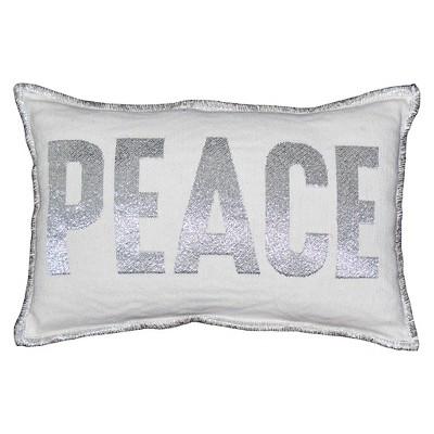 Peace  Lumbar Pillow - Threshold™