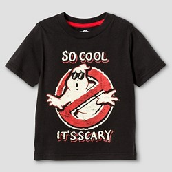Toddler Boys' Ghostbusters T-Shirt - Black