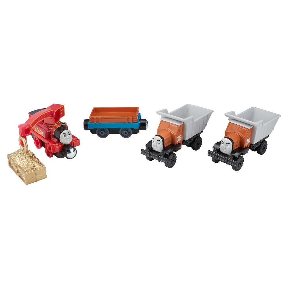 Fisher-Price Thomas The Train Take-N-Play Lift & Load Cargo Crew Multi-Pack