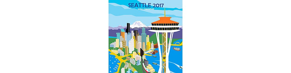 Seattle 2017 Calendar (Paperback)