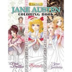 Jane Austen Coloring Book (Paperback)