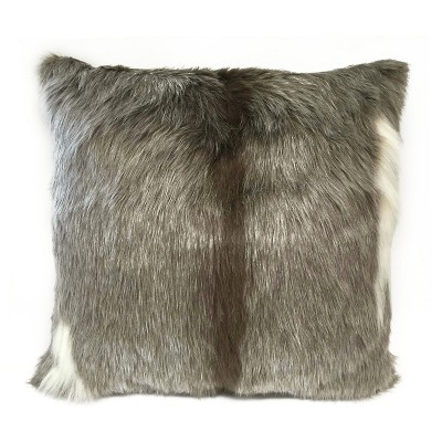 Reindeer Faux Fur Oversized Pillow - Threshold™
