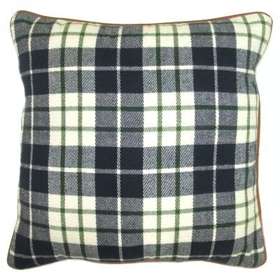 Blue Plaid 18 x18  Pillow - Threshold™
