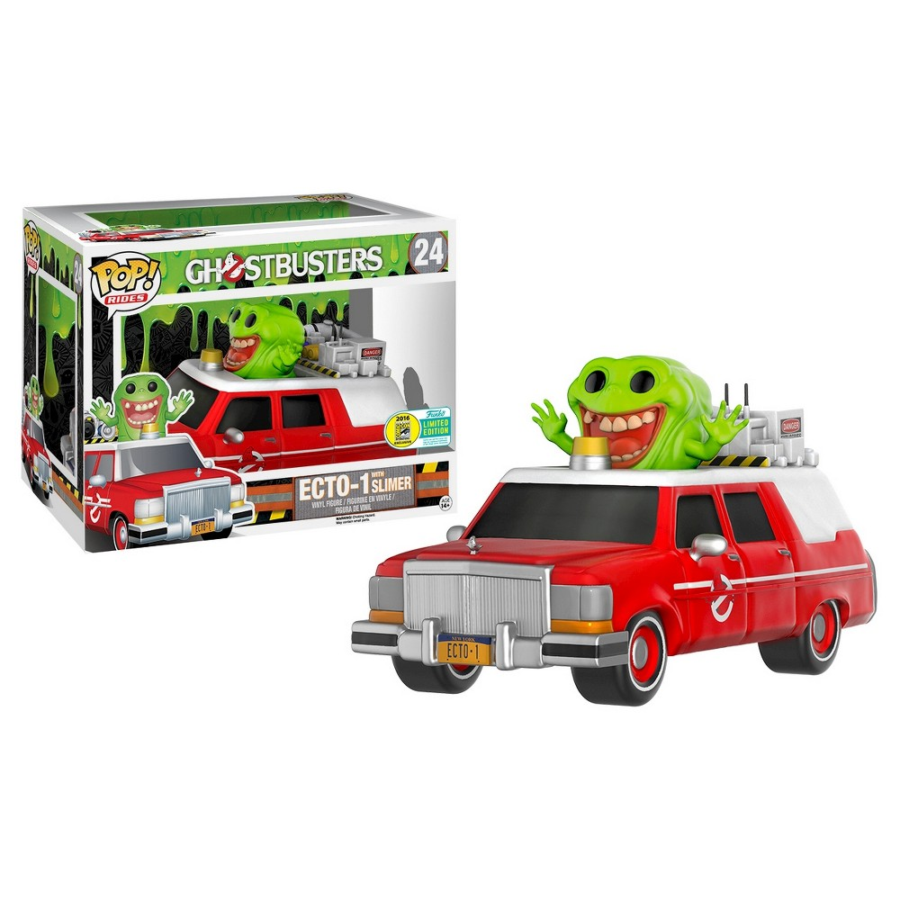 Funko Pop Rides: Ghostbusters Ecto-1 with Slimer (Convention Exclusive) - Only @ Target