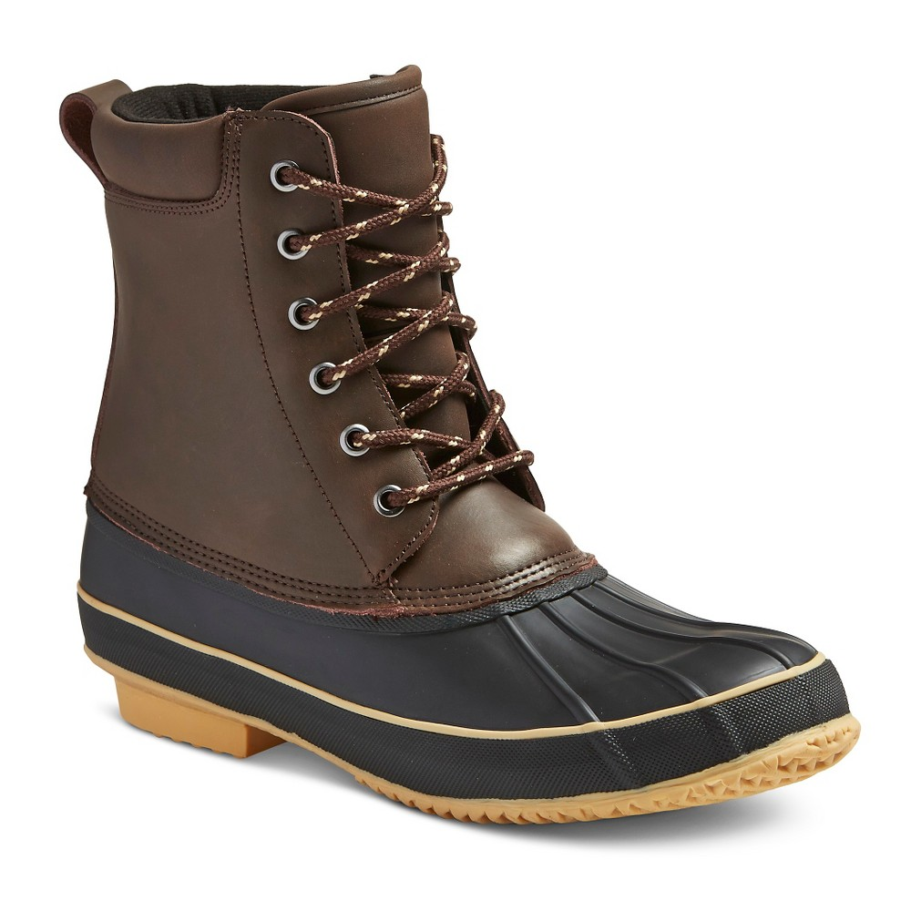 Mens Winter Boots Chester - Brown 12