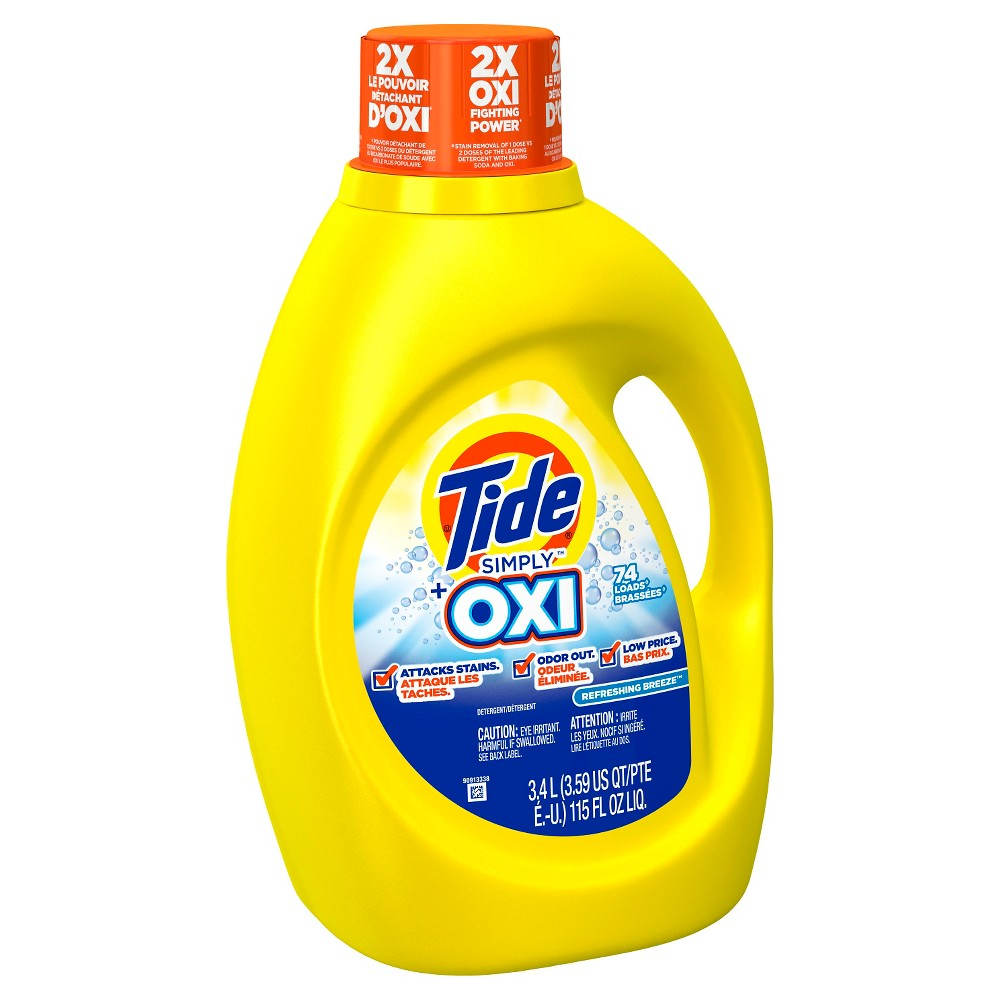 Laundry Detergent: Tide Simply Plus Oxi