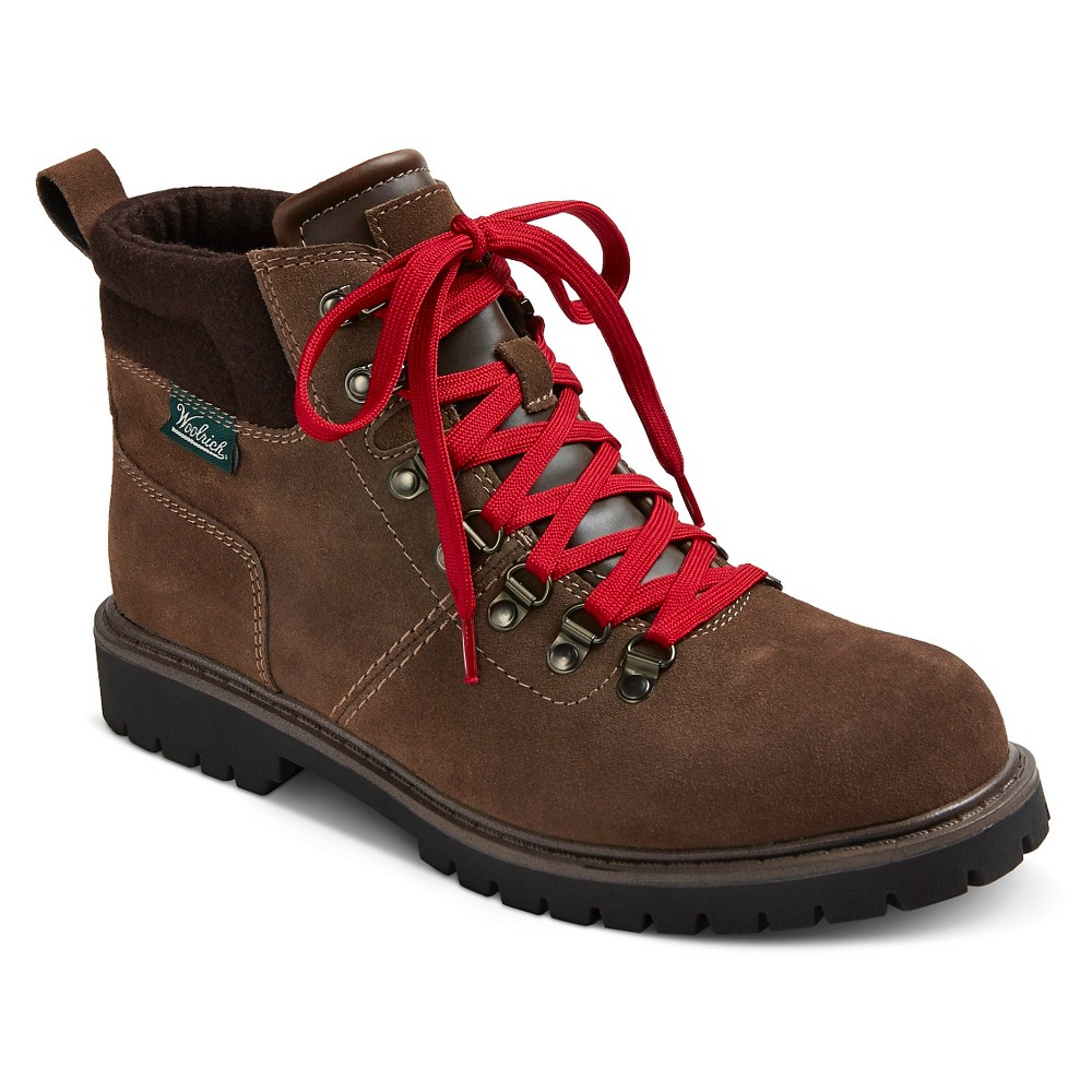 Mens Woolrich Dylan Water Resistant Suede Boots - Tin Pan 8, Brown