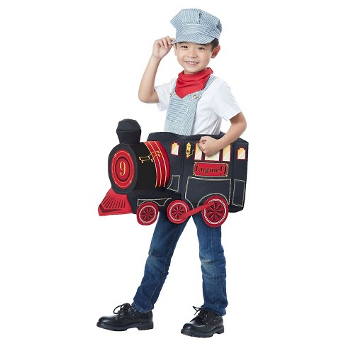 Train Rider Boys' Costume Blue - One Size Fits Most - image 1 of 1