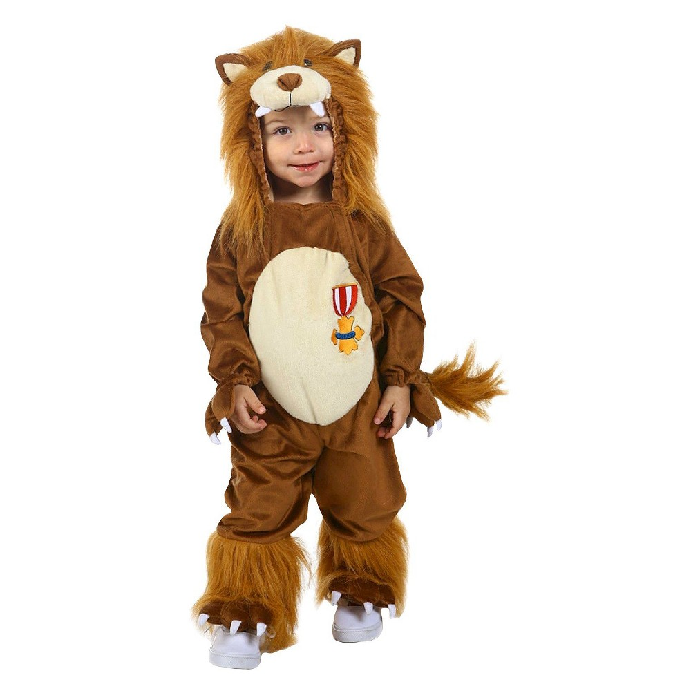 The Wizard Of Oz Cowardly Lion Costume 18 24 Months, Toddler Boy's, Brown