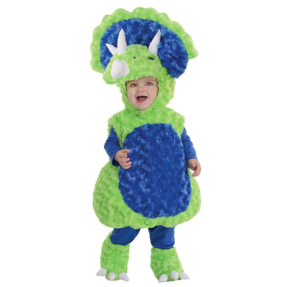 Toddler Triceratops Baby Costume - (18-24 Months), Toddler Unisex, Green