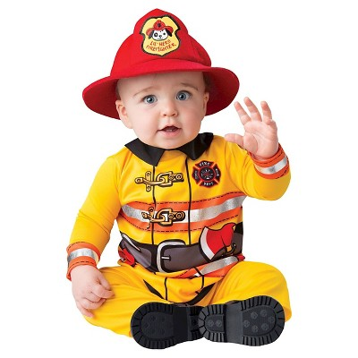 Fearless Firefighter Toddler Costume - 12-18 Months
