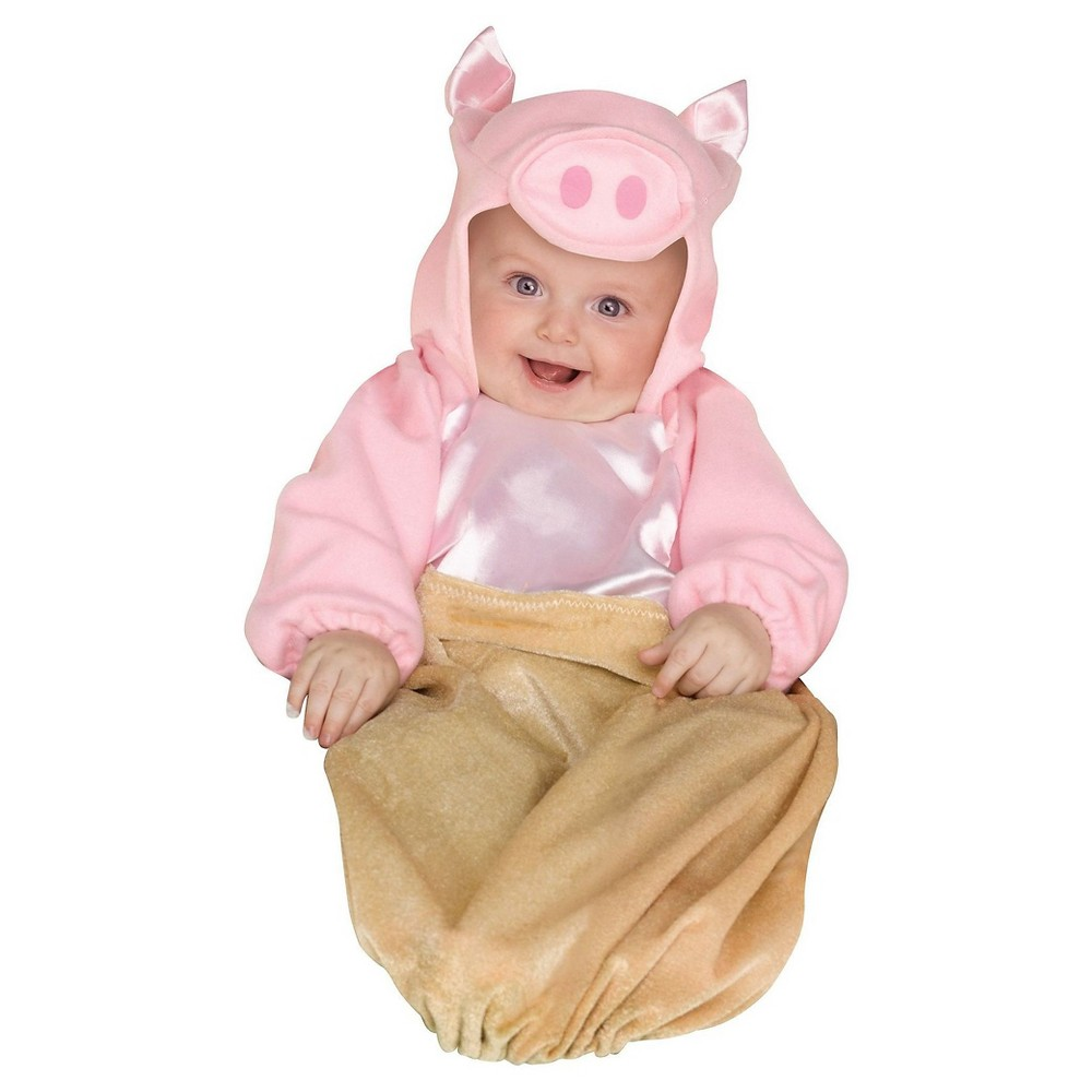 Pig in a Blanket Baby Costume - (6-9 Months), Infant Unisex, Multi-Colored