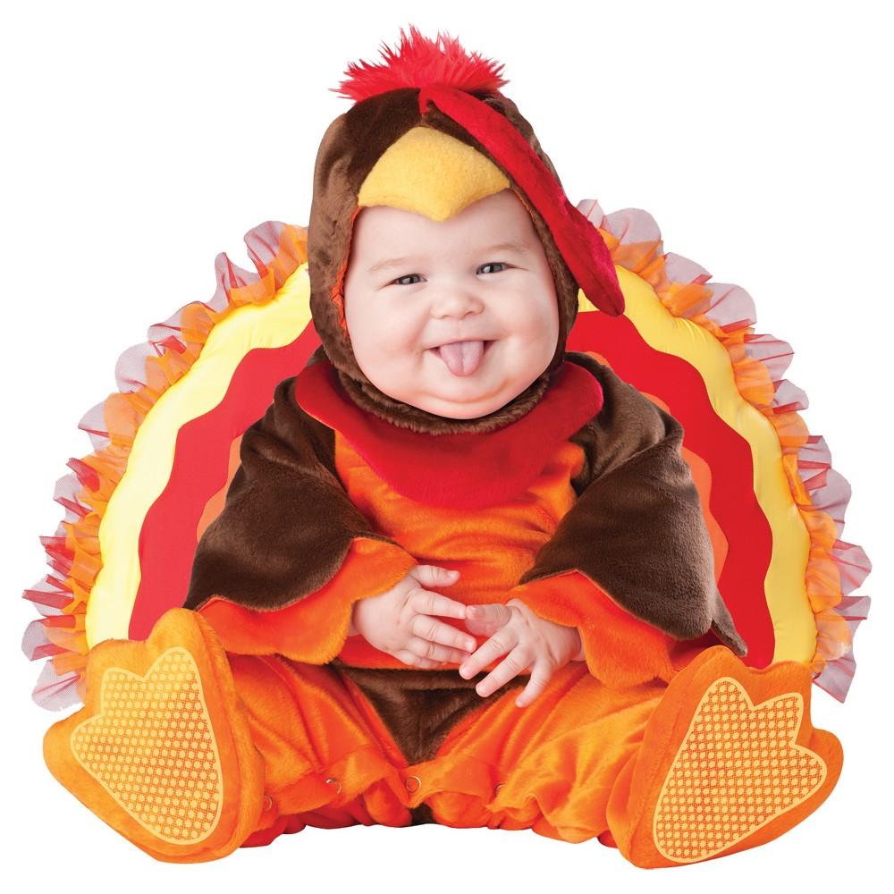 Toddler Lil Gobbler Costume 18m-2t, Toddler Unisex, Size: 18-24 Months, Brown