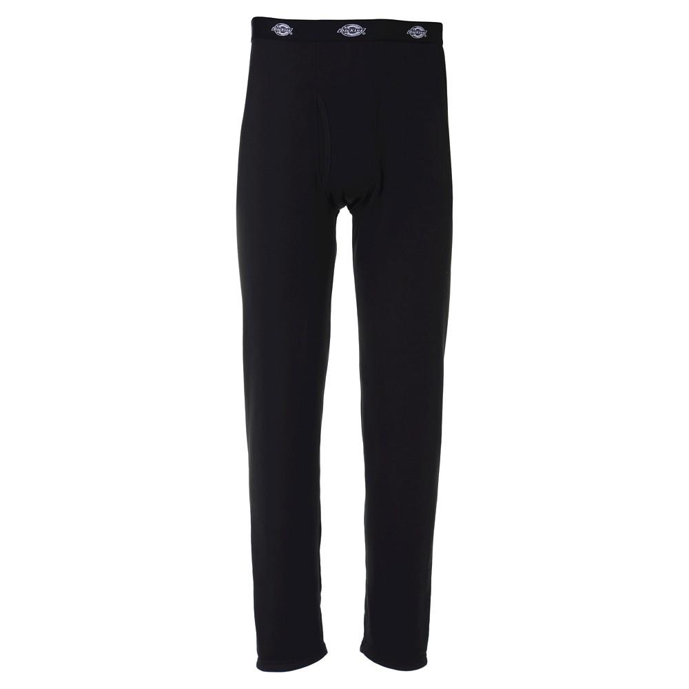 Dickies Mens Big & Tall Heavyweight Fleece Thermal Pants - Black Xlt