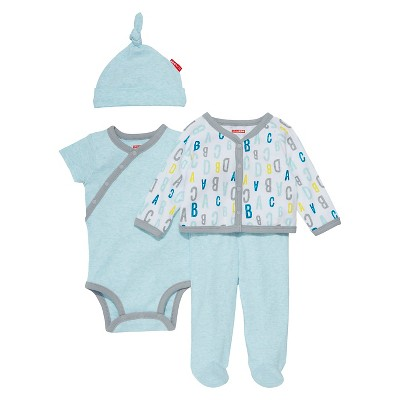 Skip Hop Baby Boys' 4 Piece 'Welcome Home' Set - Blue NB