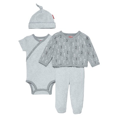 Skip Hop Baby 4 Piece 'Welcome Home' Set - Gray NB