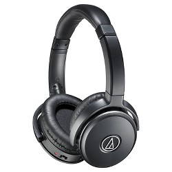 Audio Technica QuietPoint® Active Noise-Cancelling Wired Headphones - Black