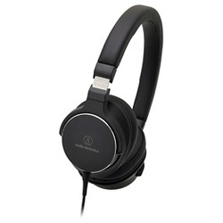 Audio Technica On-Ear High-Resolution Audio Wired Headphones - Black