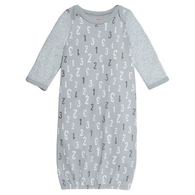Skip Hop Baby Gown - Gray One Size