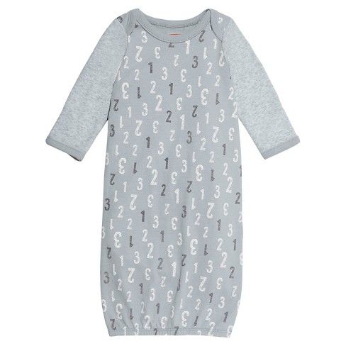 Skip Hop Baby Gown - Gray One Size - image 1 of 1