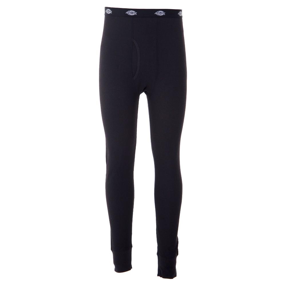 Dickies Men's Big & Tall Core Waffle Thermal Pants - Black Xxlt, Size: Xxl Tall