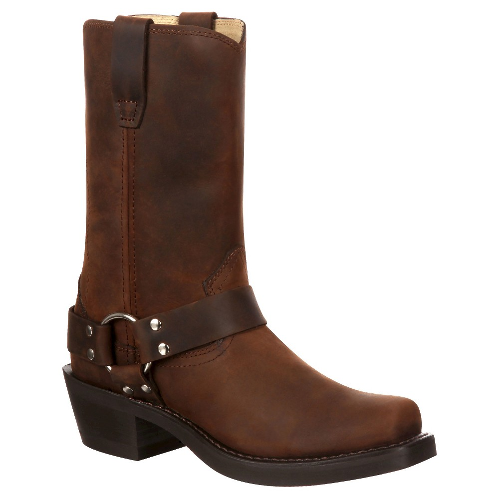Womens Durango 11 Harness Boot - Brown 8.5