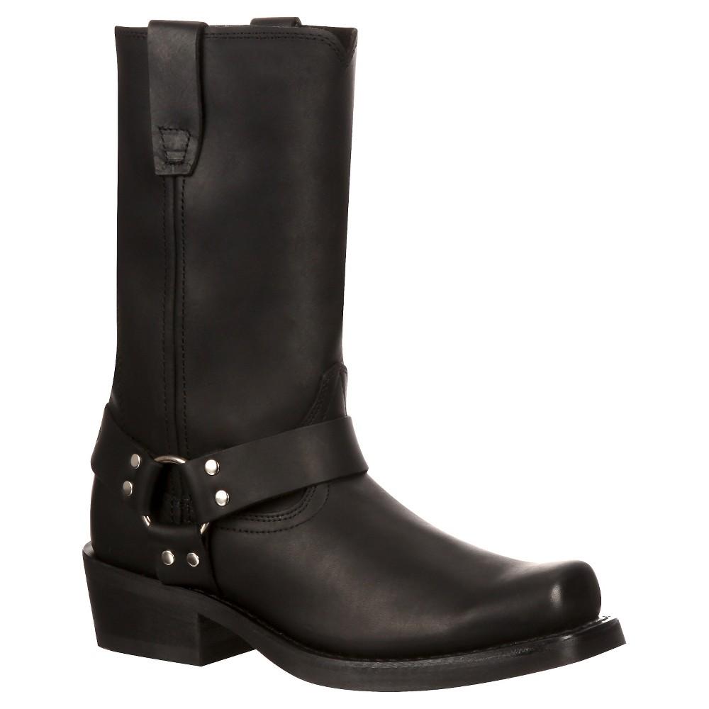 Womens Durango 11 Harness Boot - Black 7.5