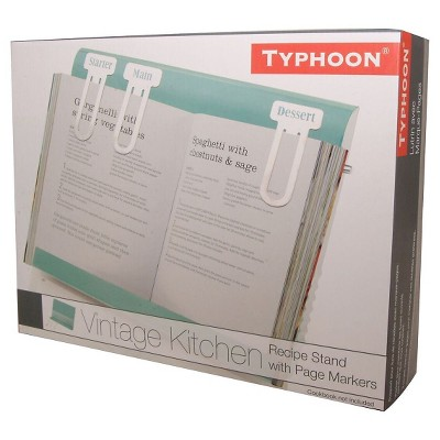 Typhoon Vintage Kitchen Recipe Book Holder - Blue