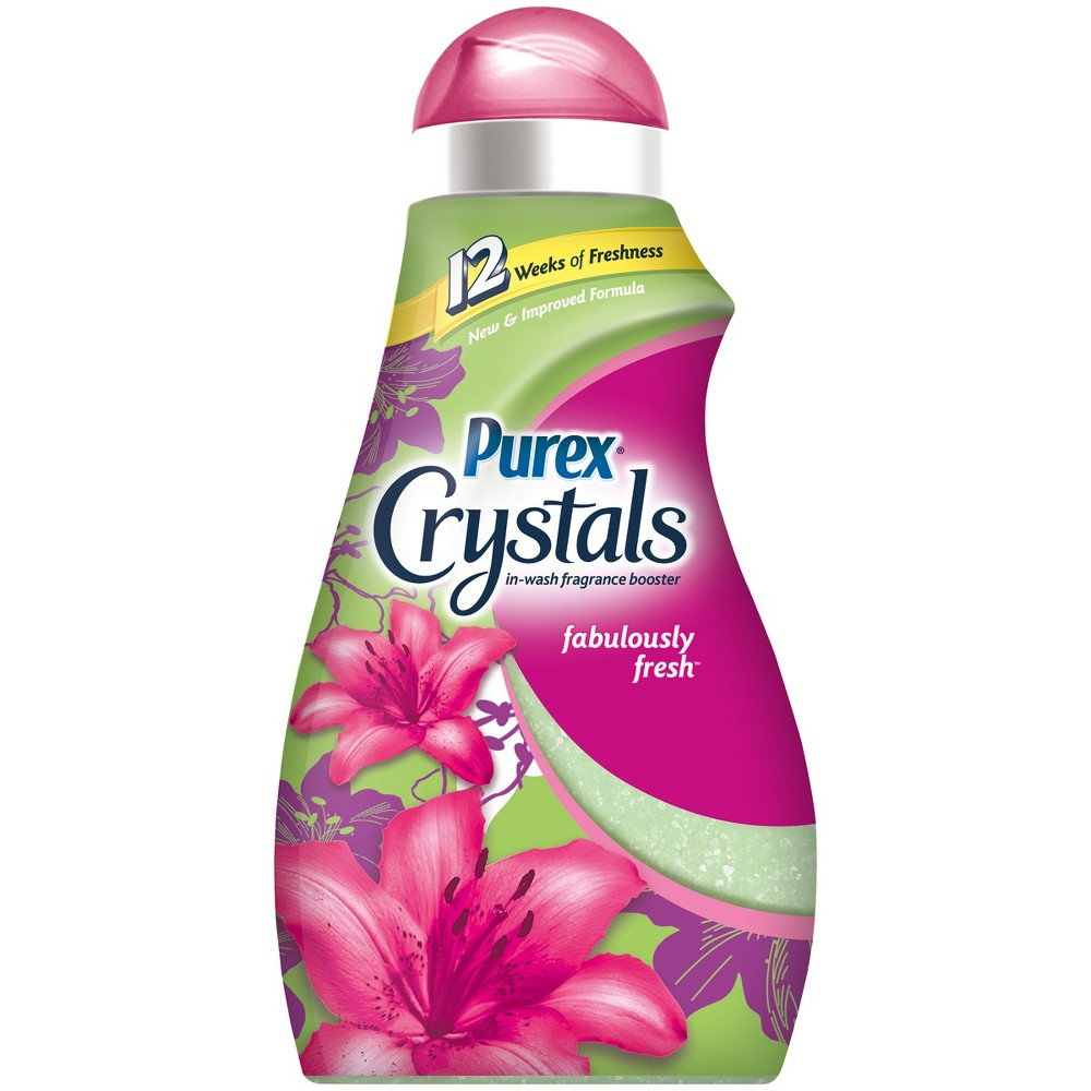 Purex Crystals Fabulously Fresh In-Wash Laundry Scent Booster - 48oz