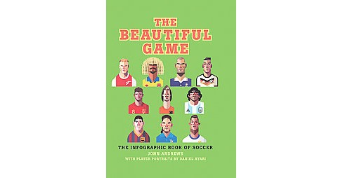 Beautiful Game : The Infographic Book of Soccer (Hardcover) (John Andrews) - image 1 of 1