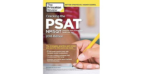 Princeton Review Cracking the PSAT / NMSQT 2016 : With 2 Practice Tests (Paperback) - image 1 of 1