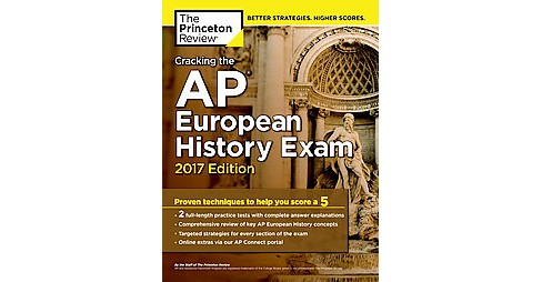 Princeton Review Cracking the AP European History Exam 2017 (Paperback) - image 1 of 1