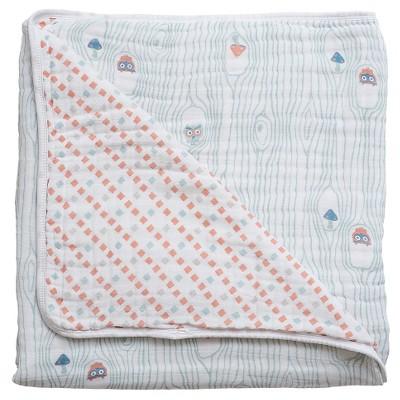 Bebe au Lait Snuggle Blanket, Little Owl/Tinsley