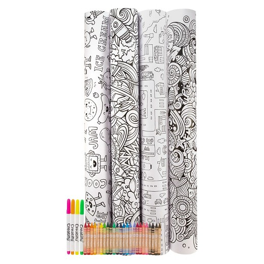 Creatify Giant Coloring Pages Target
