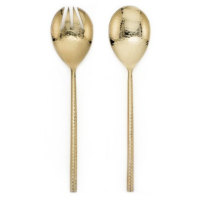 Serving Spoon Set 2-pc. Stainless Steel Gold - Threshold™