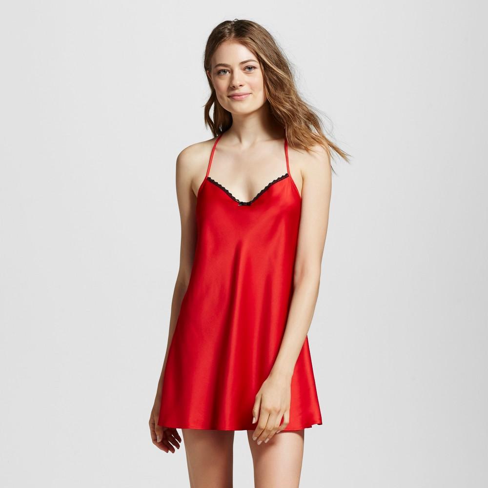 Women's Chemise Red S, Chemises