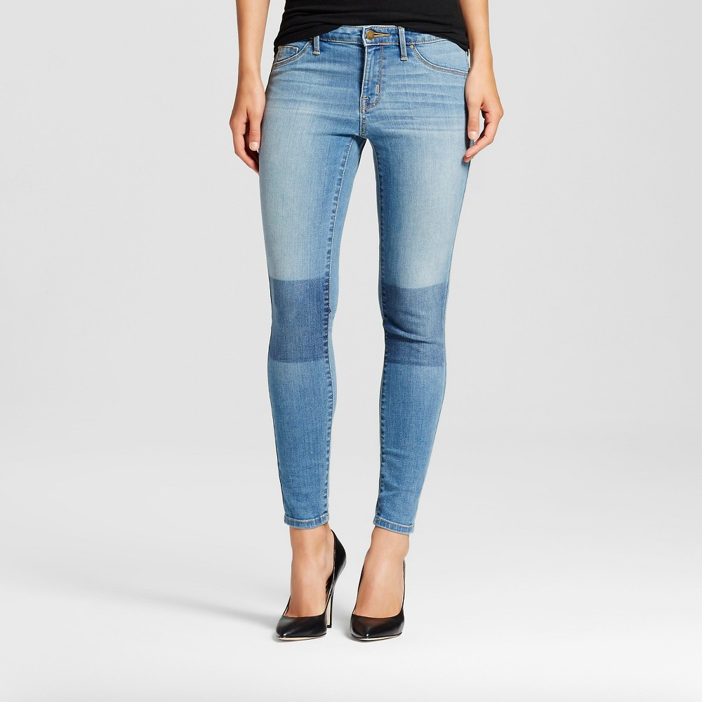 Womens Mid-rise Jegging - Mossimo Light Wash 8S, Size: 8 Short, Blue