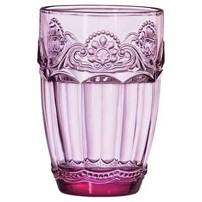Global Amici Baroque Lilac Hiball Drinkware Set - Set of 4