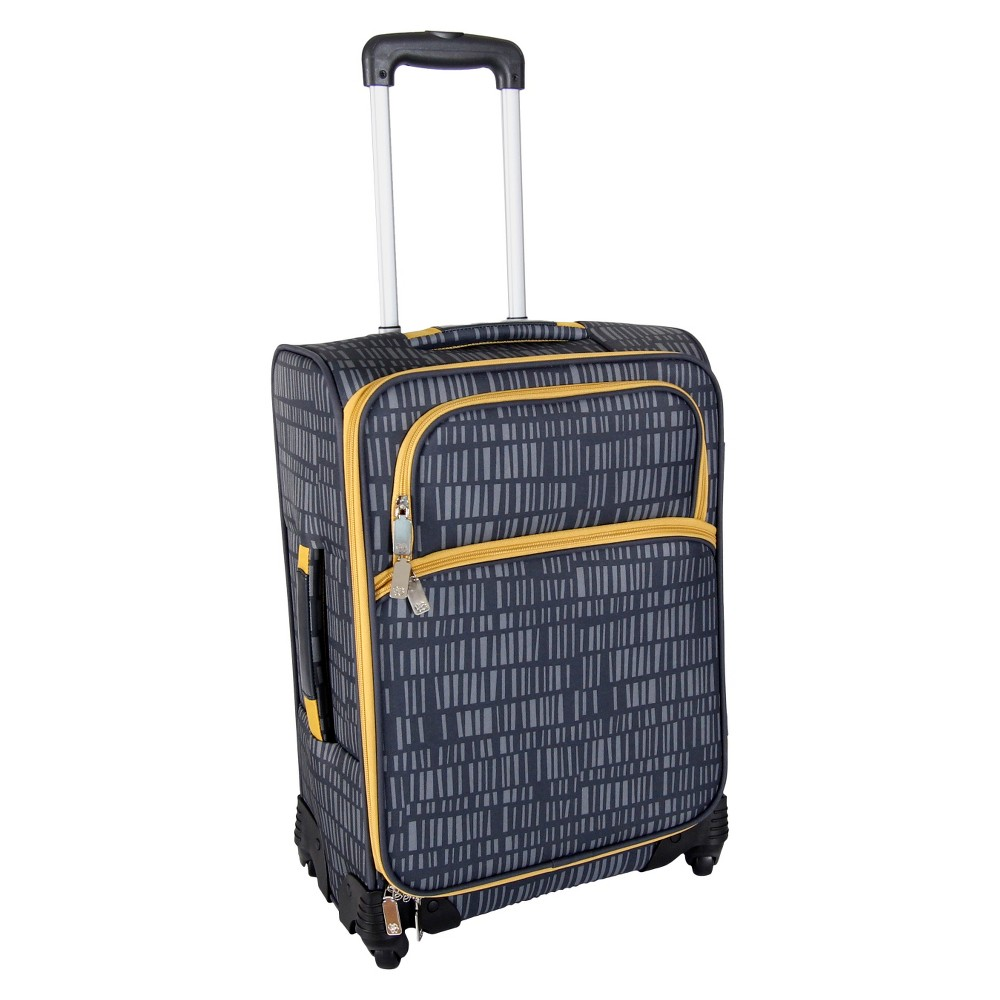 Lotta Jansdotter 21 Spinner Carry On Luggage - Anni Gray