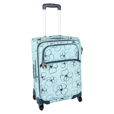 Lotta Jansdotter 26  Spinner Checked Suitcase - Bloomster