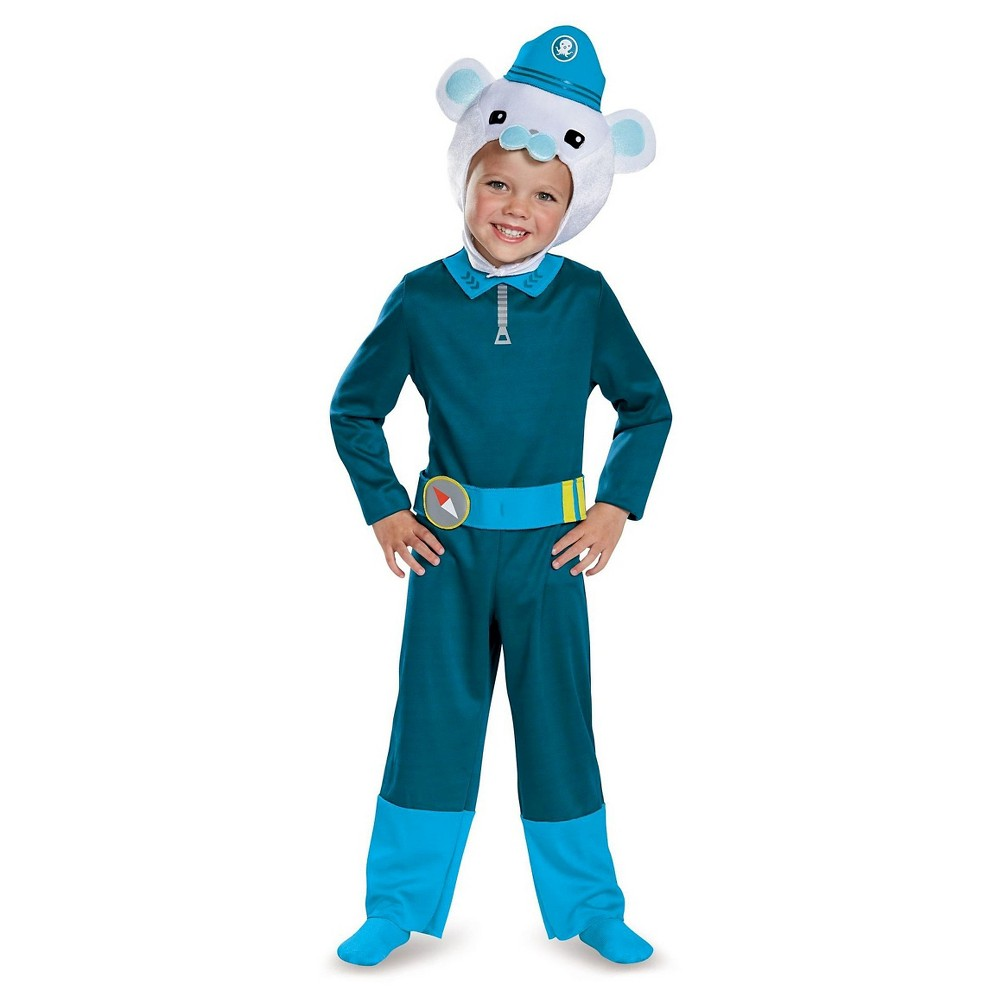 Octonauts Captain Barnacles Classic Toddler Costume - 2T, Toddler Boys, Multicolored