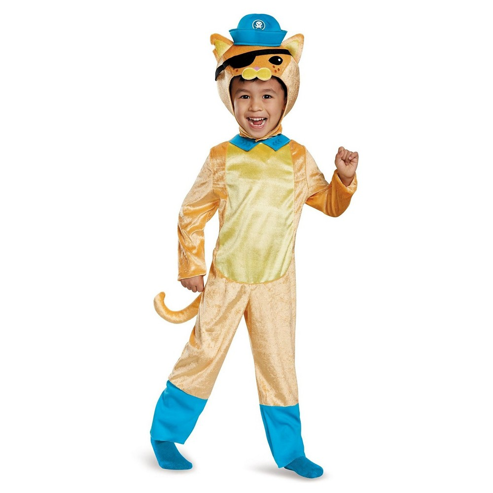 Octoanuts Kwazii Cat Classic Toddler Costume - 2T, Toddler Boys, Multicolored