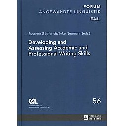 Developing and Assessing Academic and Professional Writing Skills (Hardcover)