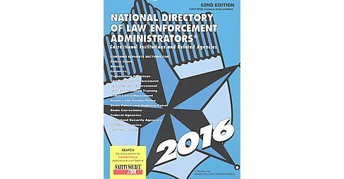 National Directory of Law Enforcement Administrators 2016 : Correctional Institutions and Related - image 1 of 1
