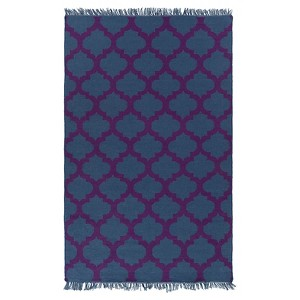 Surya Humphrey Outdoor Rug - Navy, Black