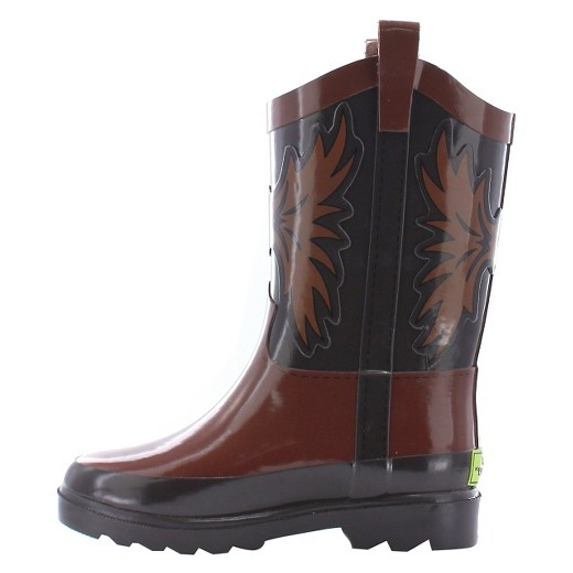 Toddler Boy Western Cowboy Rain Boot Brown - Western Chief : Target