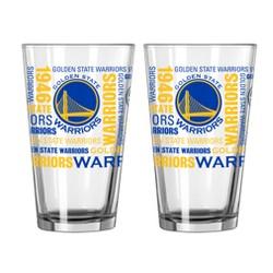 NBA Boelter 16oz Spirit Pint Glass 2pk